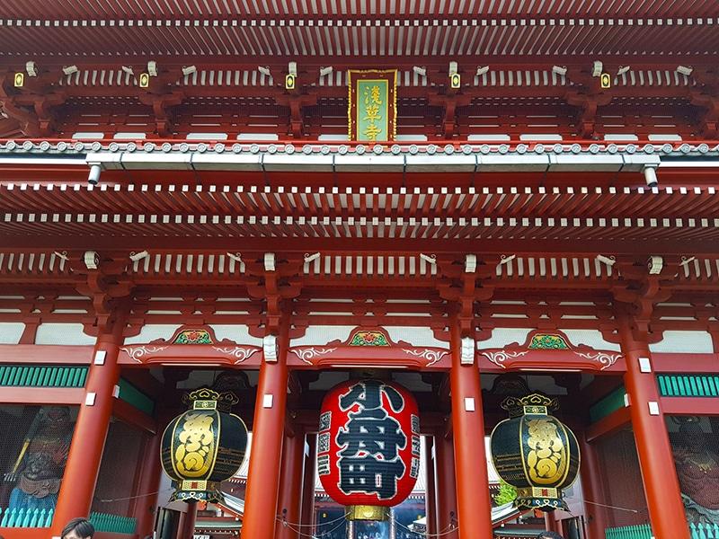 Templos que merecem uma visita em Tokyo