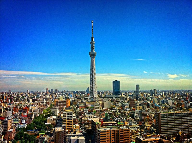 Dicas dos pontos turísticos de Tokyo