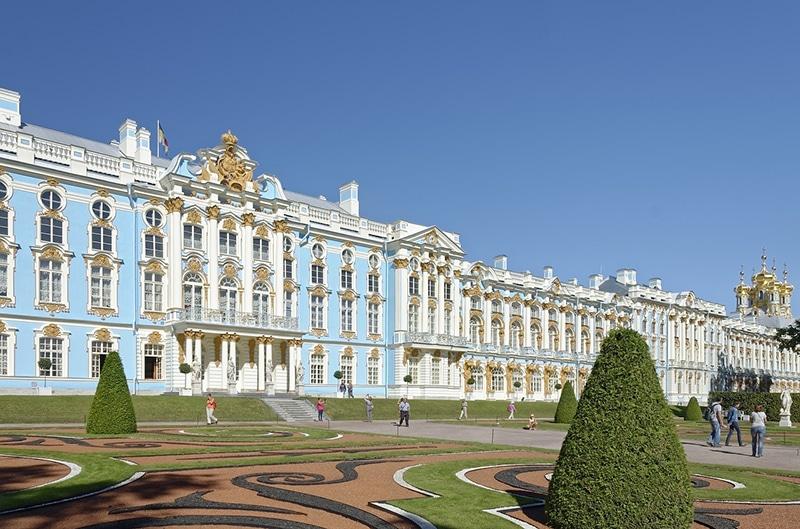 Roteiro em São Petersburgo