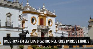 Melhores hotéis em Sevilha