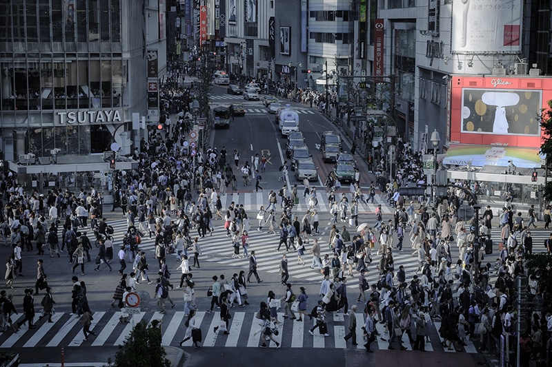 Pontos turísticos da cidade de Tokyo