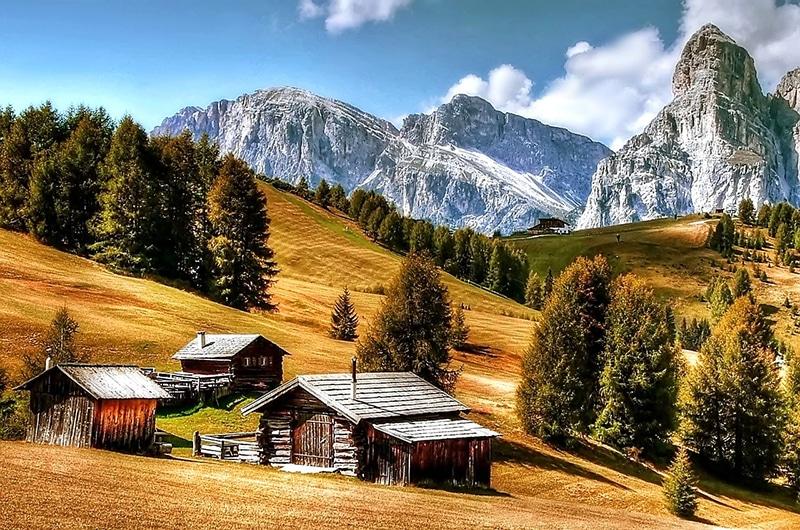 Paisagens italianas inesquecíveis