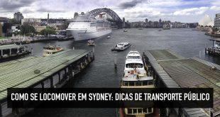 Como se locomover em Sydney
