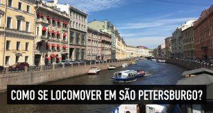 Como transitar em São Petersburgo