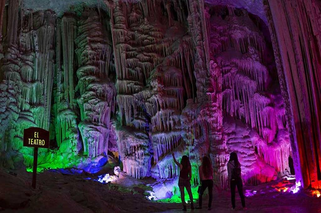 cavernas no méxico