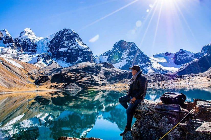 montanhas na bolivia