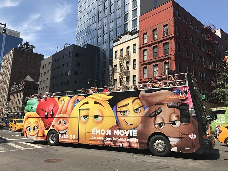 Qual ônibus turístico escolher em Nova York