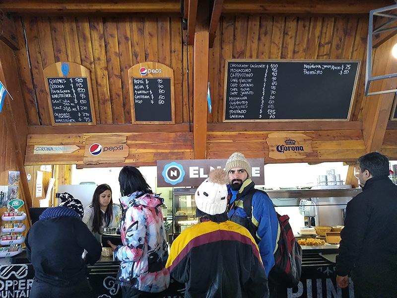 Bar Punta Princesa no Cerro Catedral