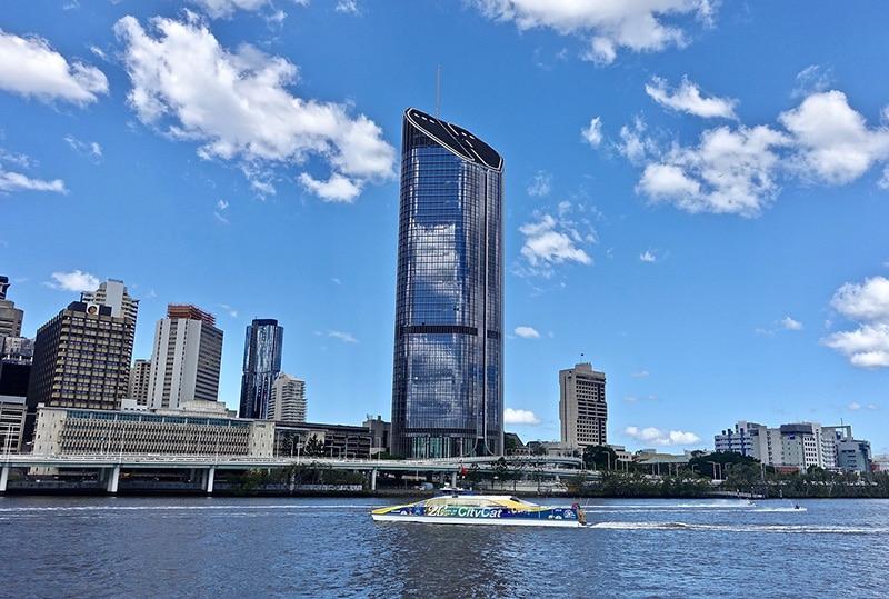 Temperatura em Brisbane