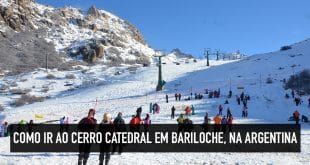 Como chegar ao Cerro Catedral