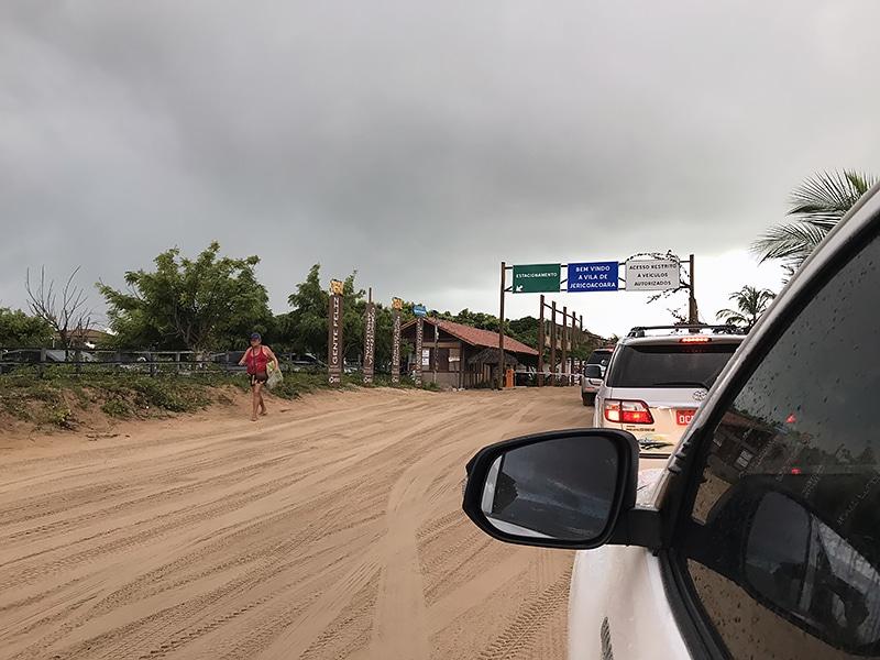 Como chegar de carro em Jericoacoara