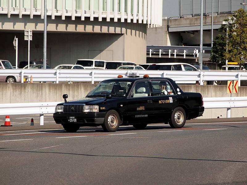 De táxi do aeroporto de Narita para o centro de Tokyo