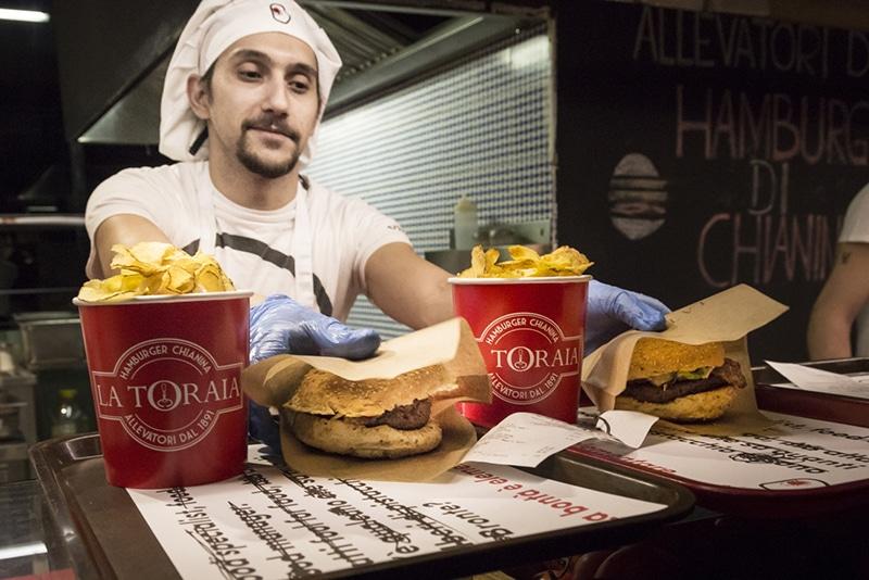 Melhor hambúrguer de Roma
