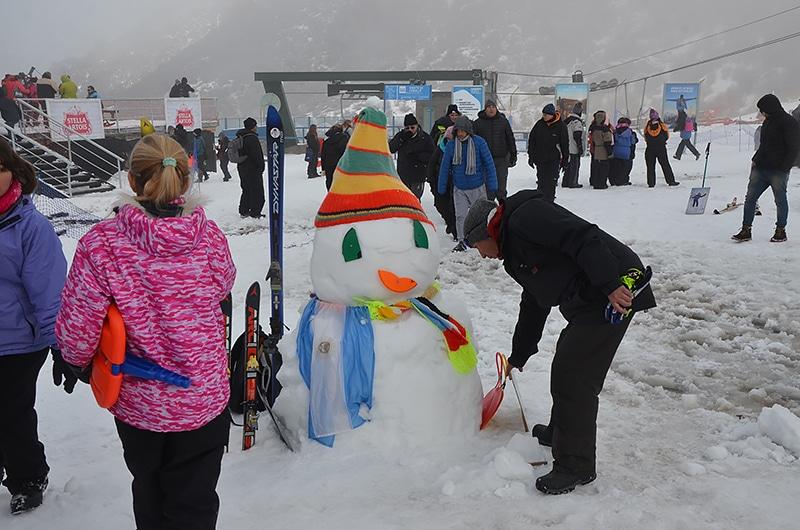 Onde brincar com neve em Bariloche