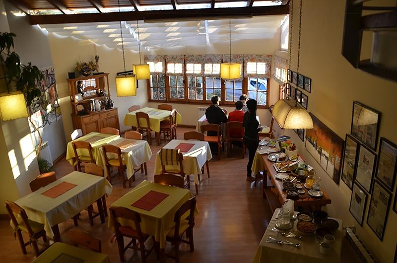 Hotel bem localizado em Bariloche