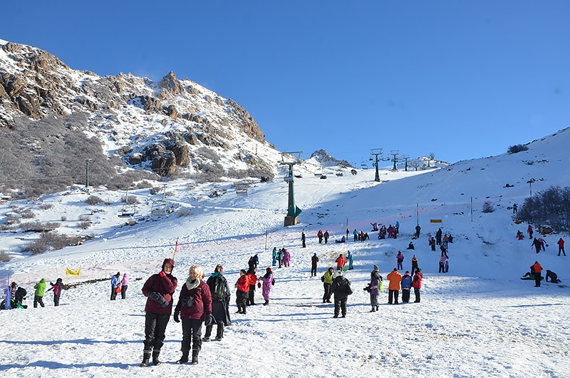 Cobertura para esquiar na Argentina
