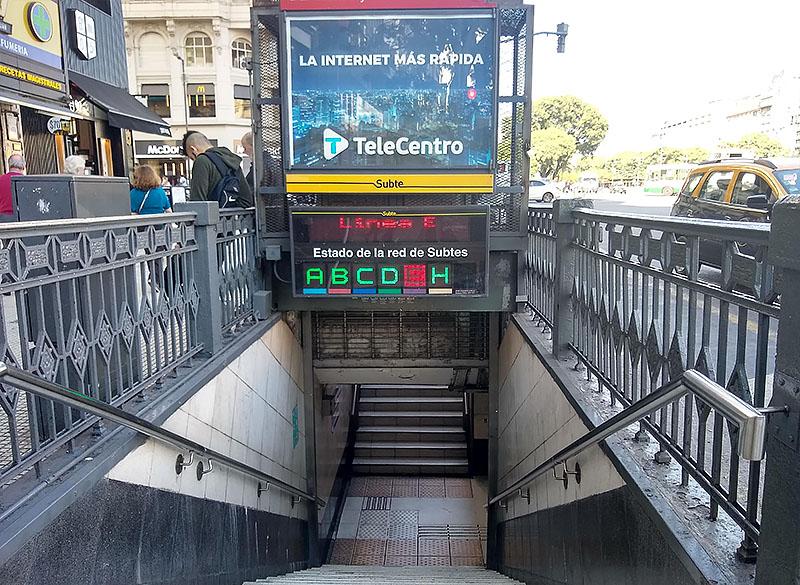 Metrô em Buenos Aires é perigoso?