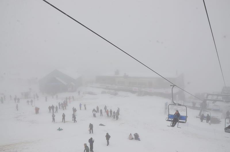 Vista da montanha de Bariloche