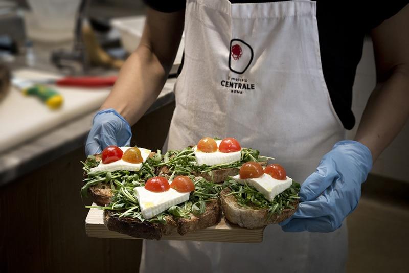 Gastronomia natural em Roma