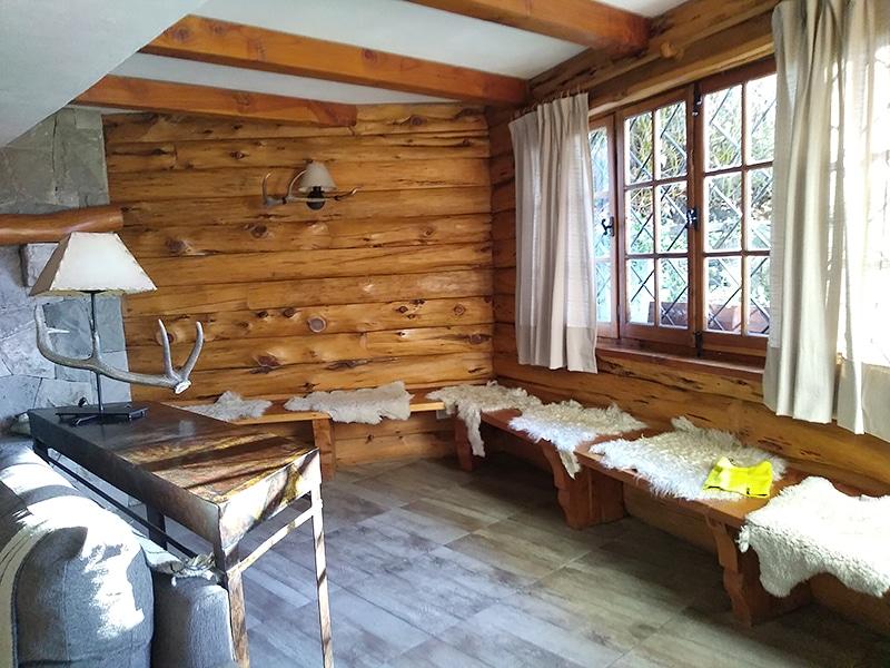 View de hotel em Bariloche