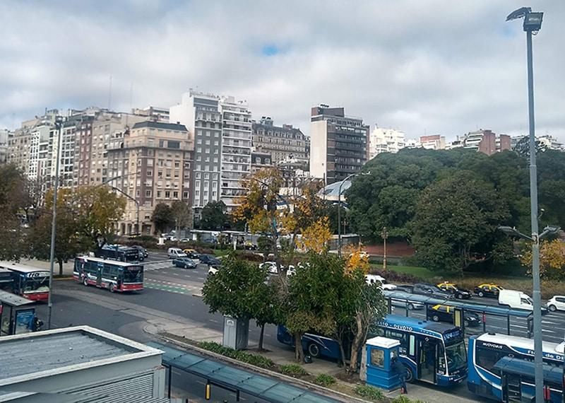 Como andar de ônibus em Buenos Aires?