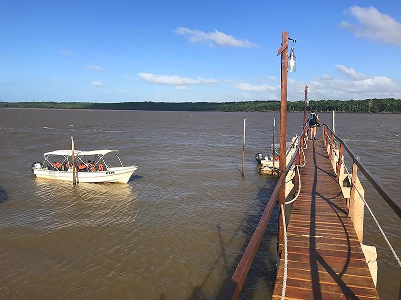 Como é o passeio de barco pelo Delta do Parnaíba