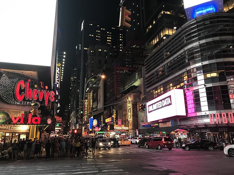 Melhor passeio noturno por Nova York