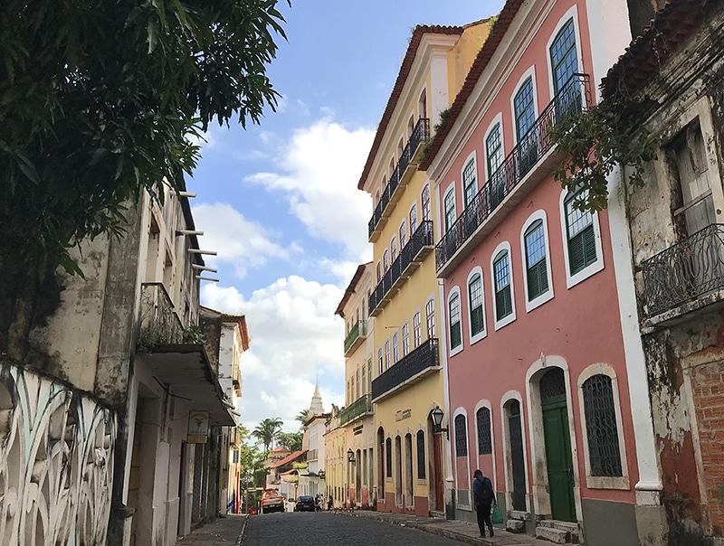 Centro antigo de São Luis