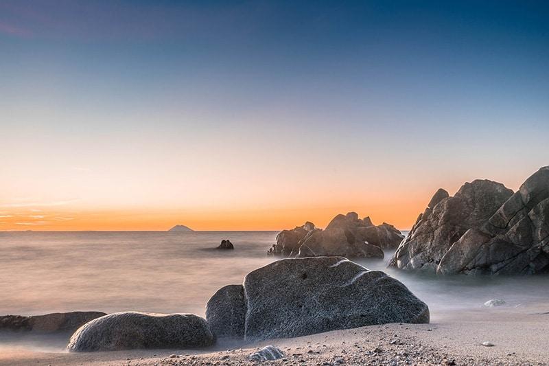 Praias selvagens da Itália
