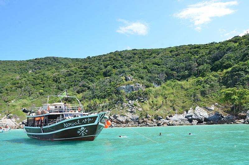 Roteiro de 1 dia em Arraial do Cabo