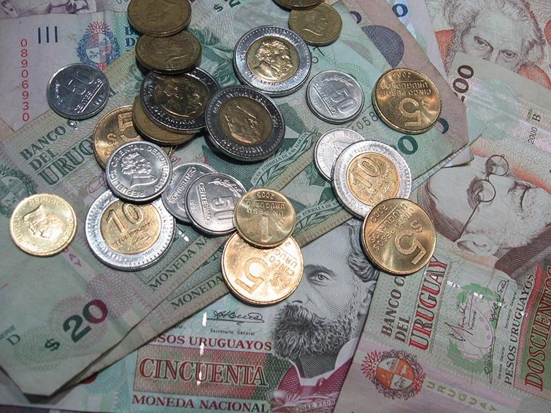 Trocar real por pesos uruguaios