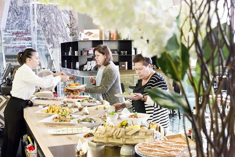 Restaurante de dieta mediterrânea em Roma
