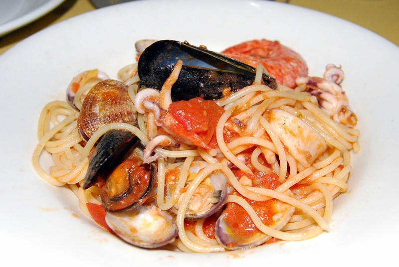 O que comer em Campania, região italiana