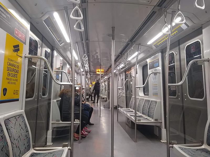 Metrô em Buenos Aires mapa