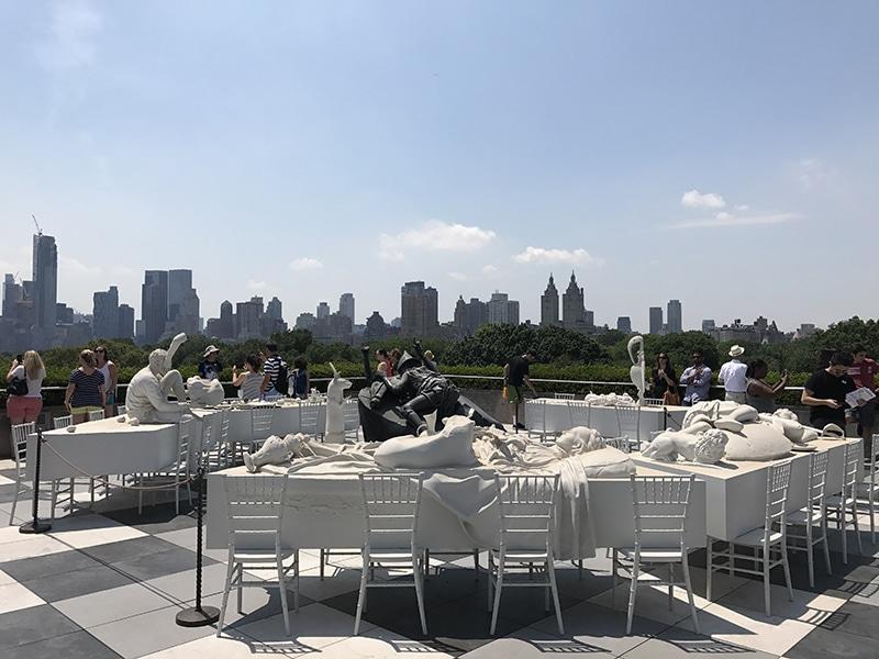Vista do MET em Nova York