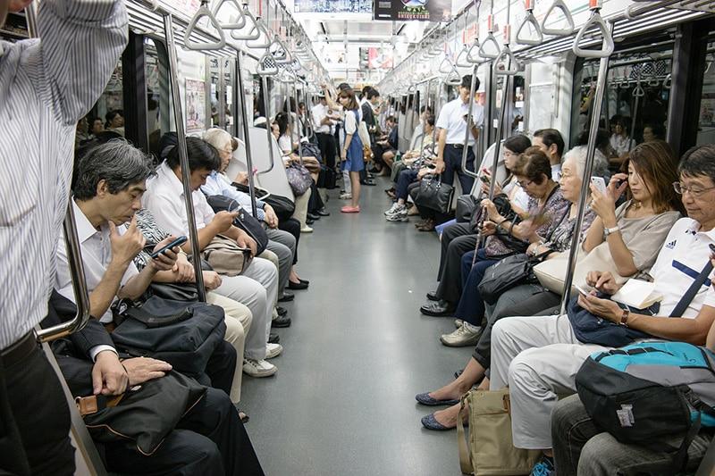 Mapa do metro de Tokyo