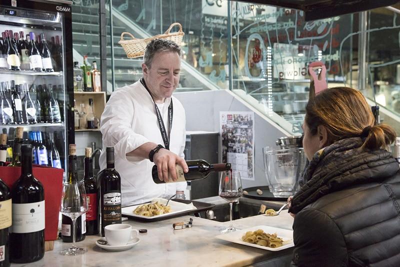 Restaurante bem localizado em Roma