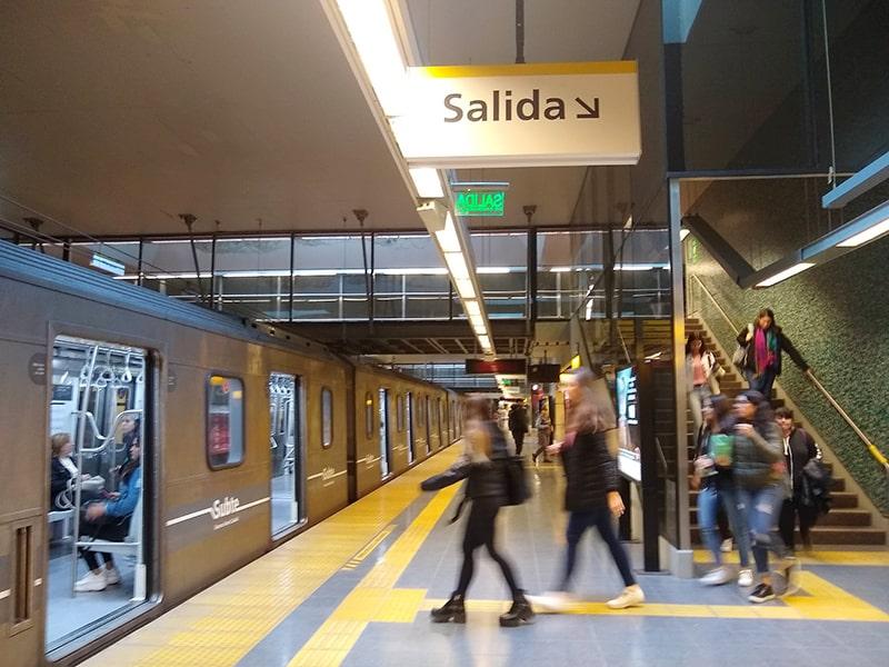 Quanto gasto com transporte em Buenos Aires