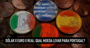 Dólar x Euro x Real: Qual moeda levar para Portugal - Real