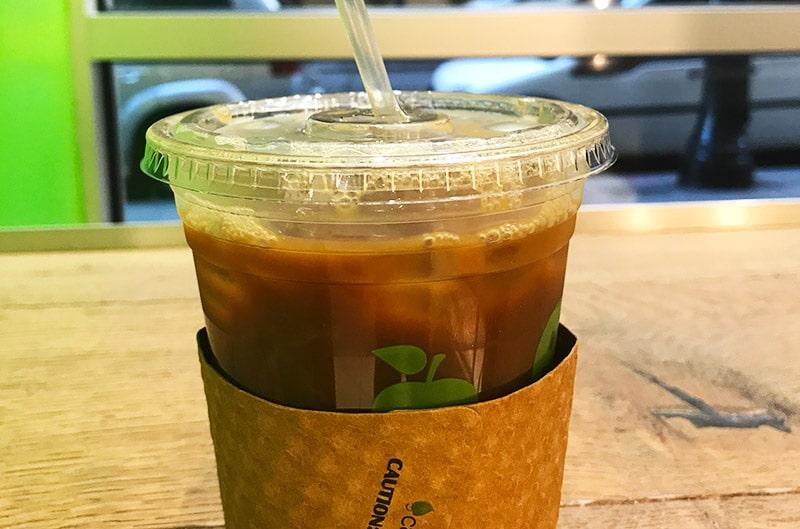 Ice coffee em Nova York
