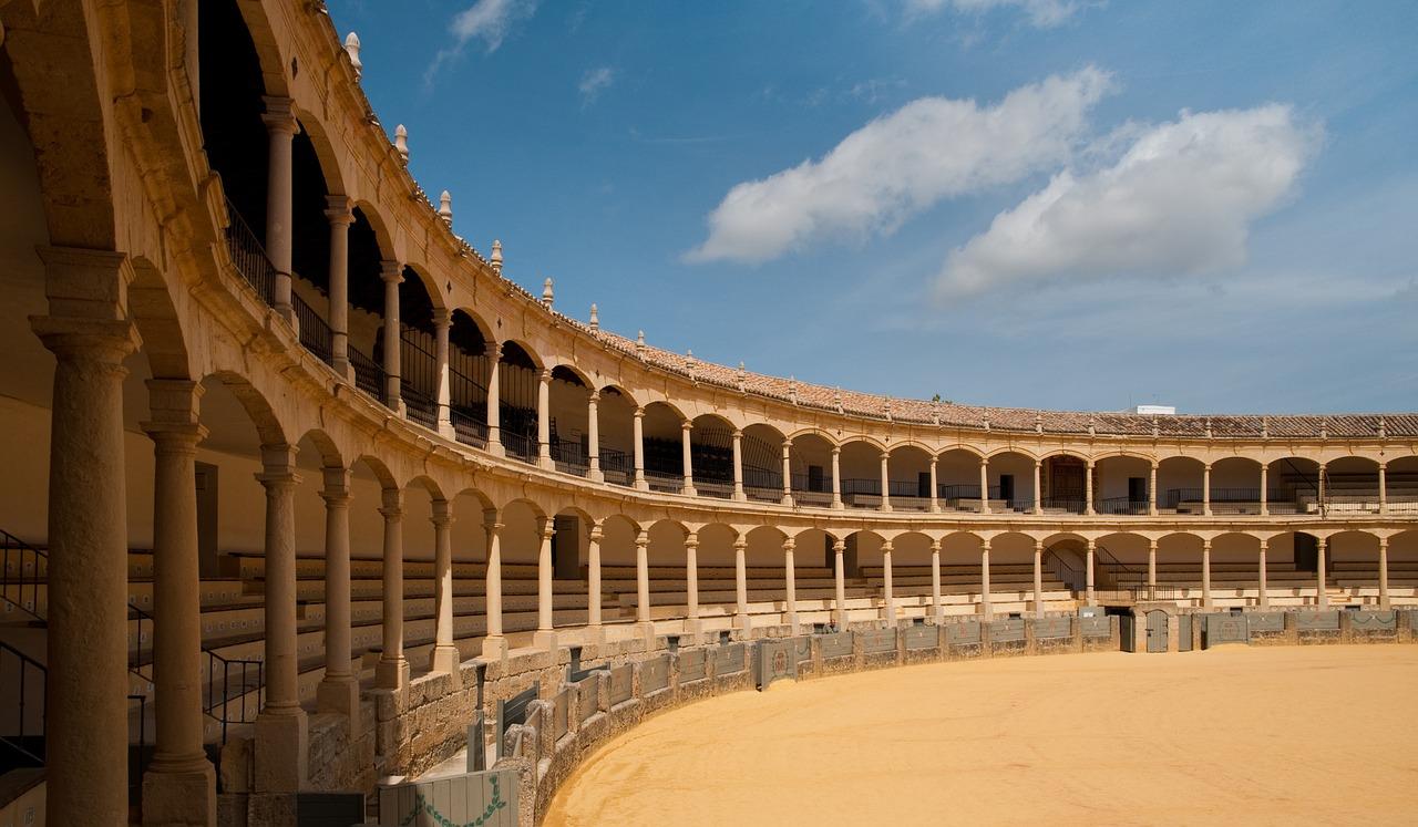 Praça de Touros em Ronda na Espanha