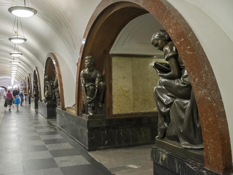 Histórias do metrô de Moscou