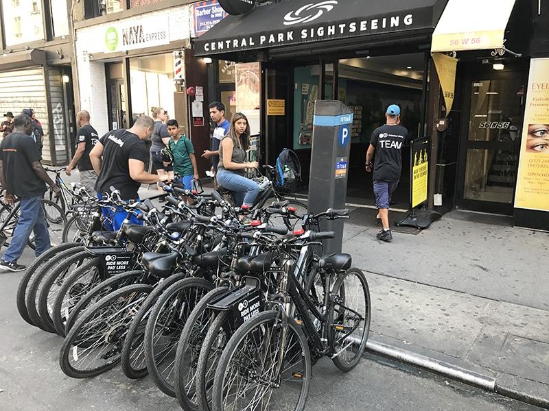 Preço do aluguel de bike em Nova York
