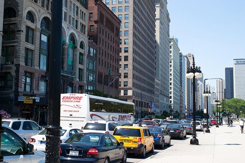 Que tipo de carro escolher para Chicago