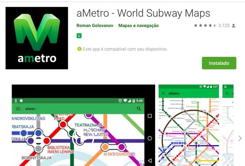 Aplicativo metroEuropa