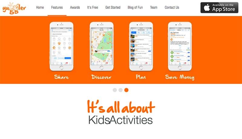 App para atividades com crianças