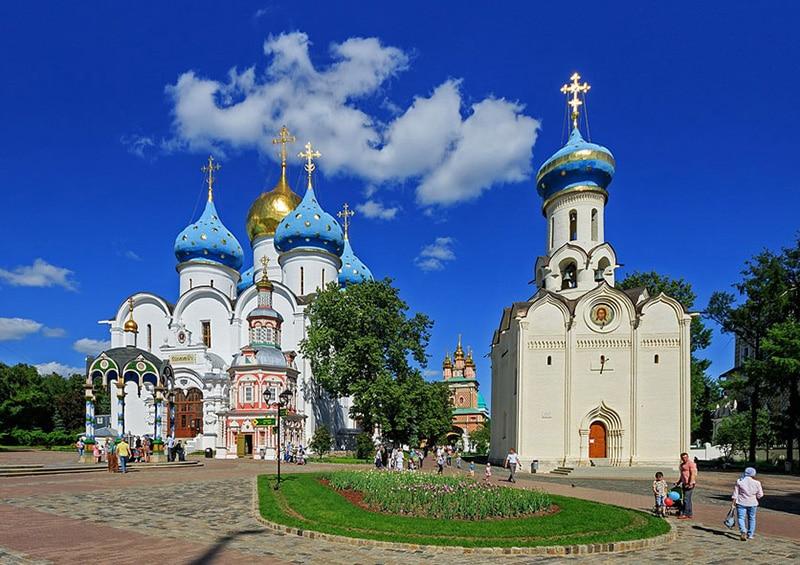 Cidades turísticas perto de Moscou