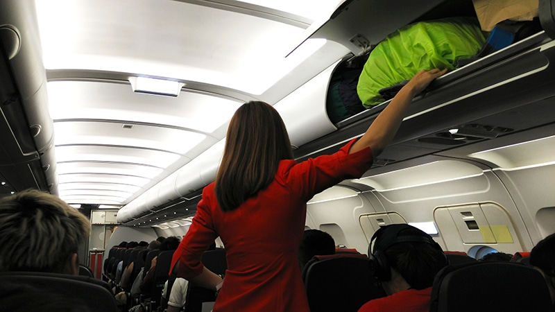 Qual o tamanho da bagagem de mão
