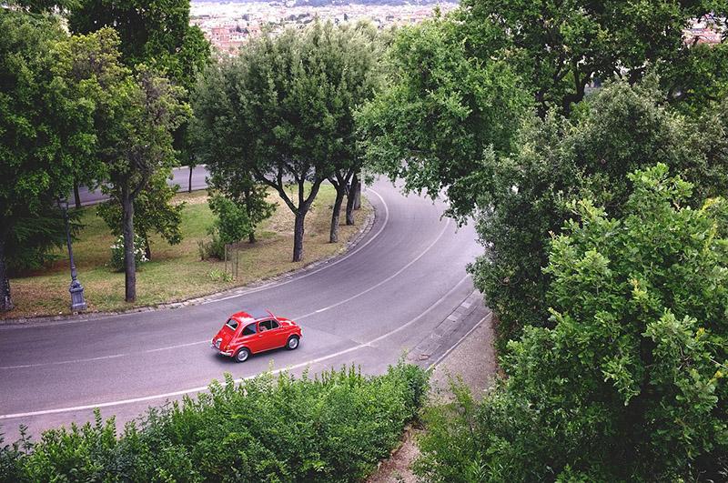 Preços de aluguel de carro na Itália