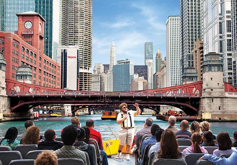 Cruzeiro Arquitetônico de Lancha em Chicago